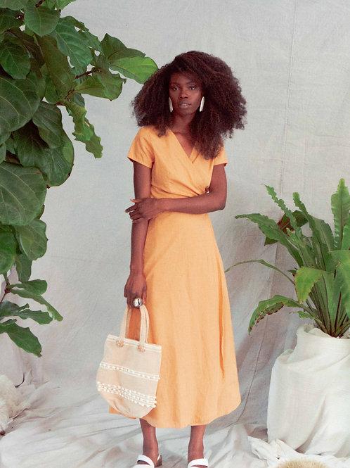 Sandy Dress in Squash