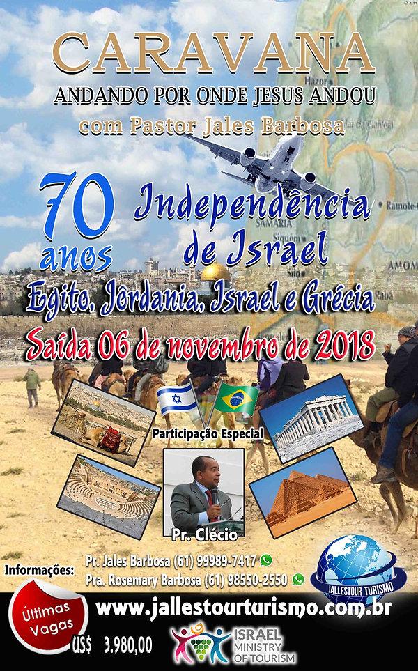viagem para Israel com Pr. Jales