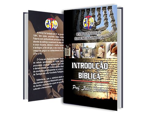 Nº 01 - Apostila Digital Introdução Bíblica