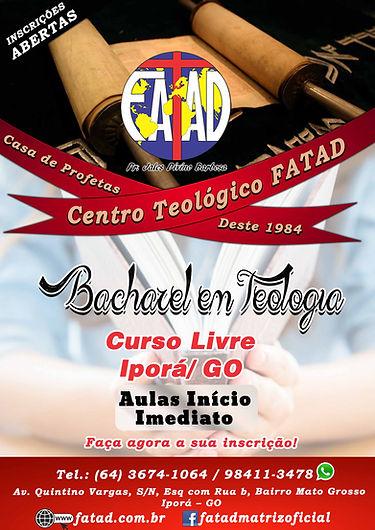 Curso Livre Iporá - GO Bacharel em Teologia