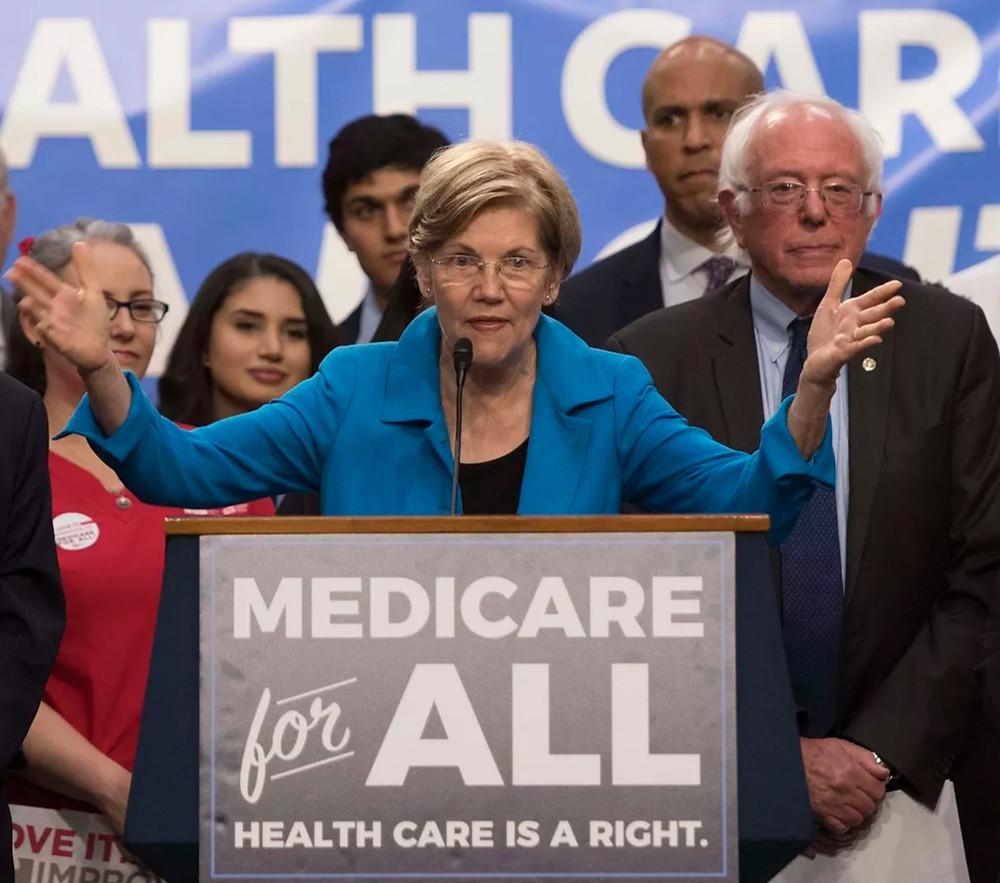 Senators Warren and Sanders present Medicare for All