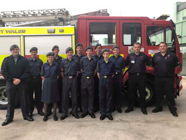 Visit to the Aberystwyth Fire Station