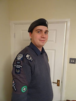 Promotion of CWO Parry T