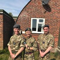 Sgt Owain Wilson - Junior Leaders course