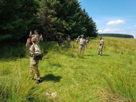 Cadets fieldcraft weekend