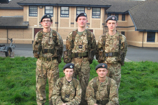 Cadets Fieldcraft lesson