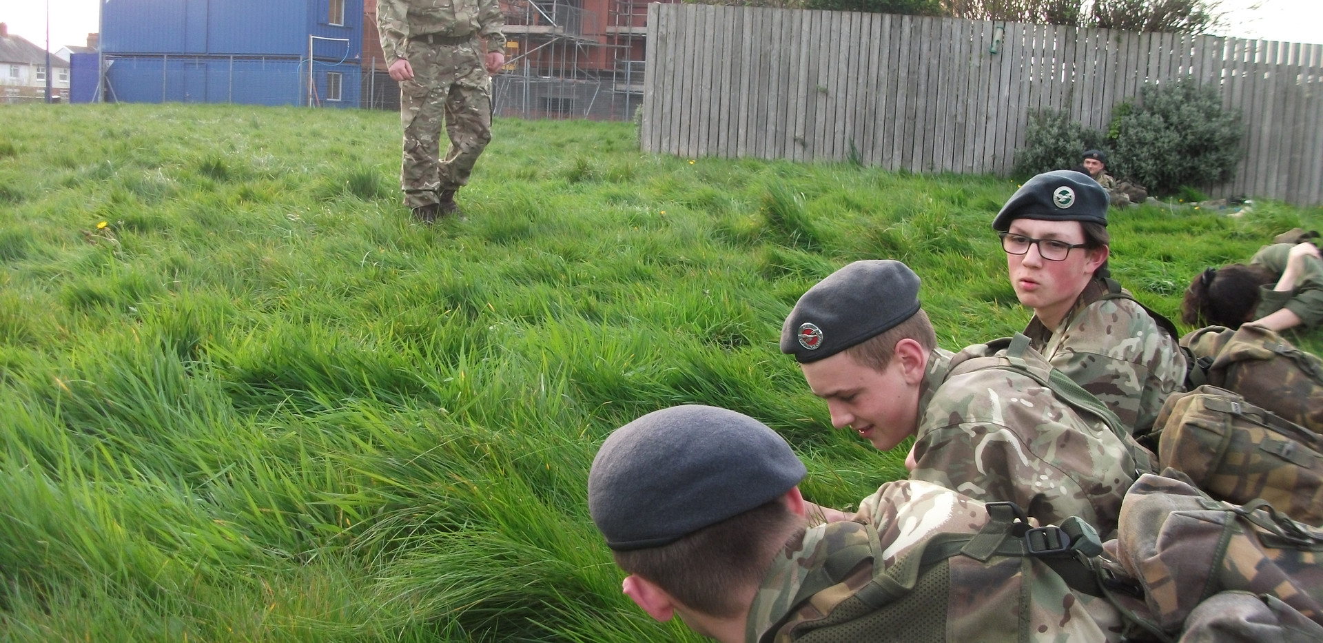 CWO Evans fieldcraft lesson