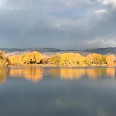 Early Morning Squall at Twin Lakes