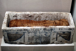 WLA_brooklynmuseum_Sarcophagus_for_Cat_Mummy_ca_305_BCE-1st_century_CE