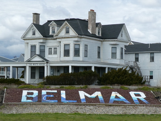 Belmar Update: Covid Memorial Finds A Home. No Pier for You! Busy Beach, Marina & Party Town
