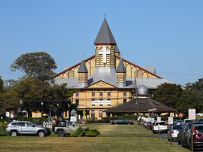 Ocean Grove: God's Square Mile With Symphonic Sounds & Tent Camps. No #1 for Victorian architecture.