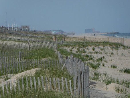 """Mantoloking: """"There's a Beach, Some Houses and Access to the Beach."""" Two miles uninterrupted beach."""