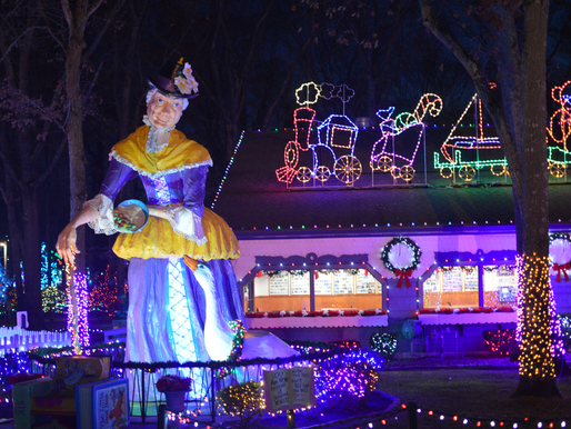 Kick off Holiday Season at Storybook Land's Christmas Fantasy with Lights; Reserve Now. Selling Out!