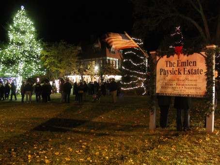 Cape May Holiday Kick Off: Act Now, Few Seats Left for Tree Lighting at Emlen Physick Estate