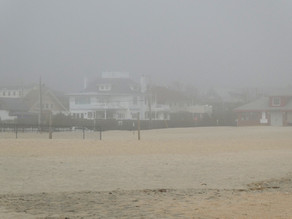 Tiniest (and newest) Jersey Shore Town --Loch Arbour. Like Brigadoon, it appeared from the mist.