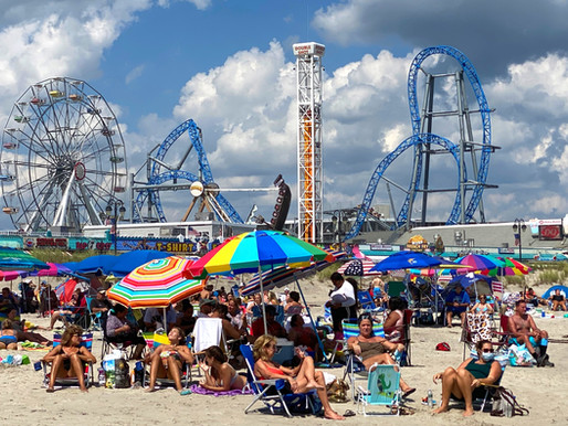 Ocean City: Family beaches. Expanded Pier. Perilous Boardwalk.