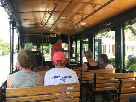 Get back on track with the Cape May Trolley for ghost stories, oddities and history in the open air.