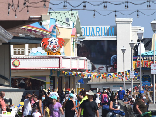 Pt. Pleasant Beach: Family Boardwalk by Day, Parties at Night, 4 Privately-Run Beaches, None Public