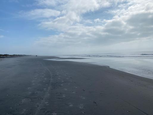 North Brigantine: Most Remote, Pristine Beach at the Shore. Remnants of Lifesaving Station. Photos!