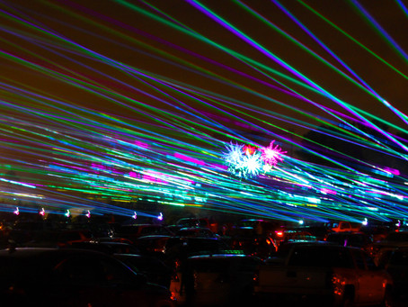 Kickstart Spring with Rockin' Drive-in Laser Light Show at Six Flags, this Thurs-Sun, March 18-21