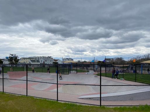Seven Presidents Park: Surfers, Skaters & Kids Rule. Long Branch's County-Run Beach Park.