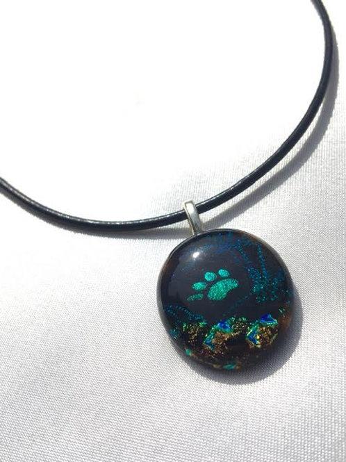 """Galactic Glitter"" medium pendant"