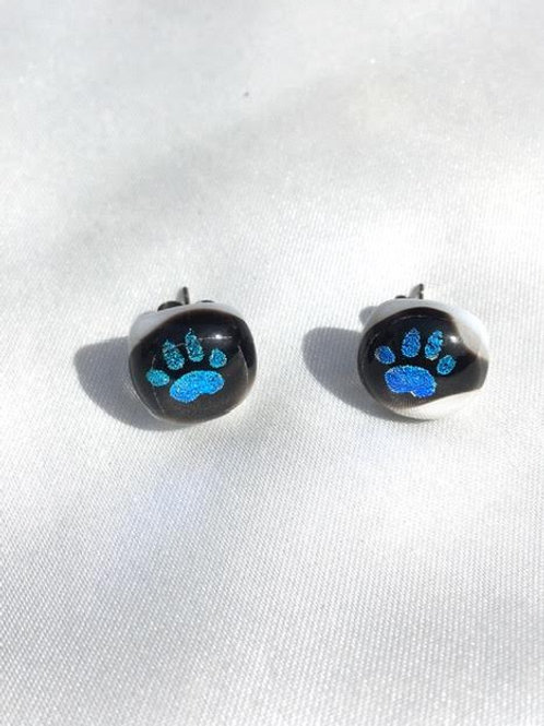 """Clues"" small stud earrings"