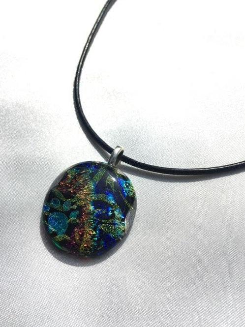 """""""Sunshine and Rainbows"""" large pendant"""