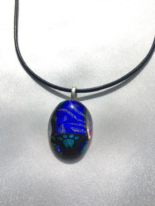 """High Five Pawprint"" medium pendant"