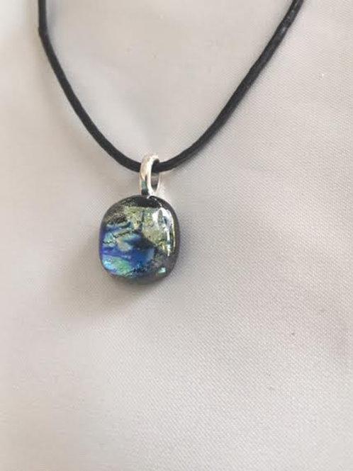 Small Fused Glass Pendant