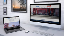 desk & laptop