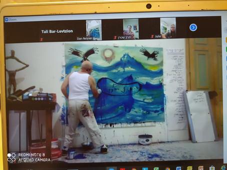 הזמנה Action Paint| בנושא שינוי, טרנספורמציה מתמדת בסימן יום ההשראה הבינלאומי