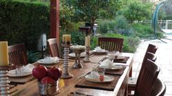 אירוח בגינה
