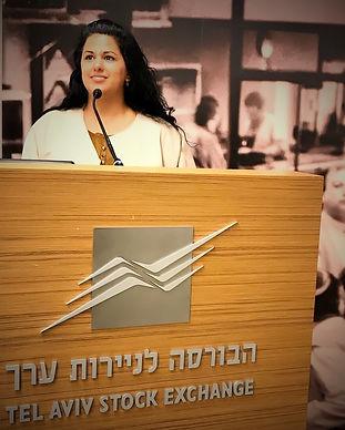 טלי דביר לבנת בורסה תל אביב יום ההשראה.J