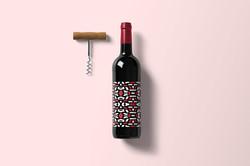 Wine Bottle Mockup Example4