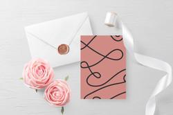 Free Customizable Invitation Card Mockup