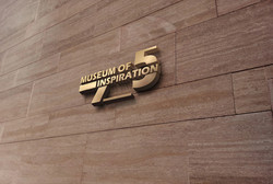 3D Wall Logo MockUp 2