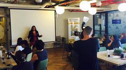 we work שרונה תל אביב הרצאה של מנכ״ל