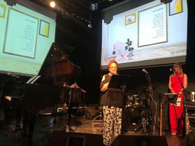 המשוררת ד״ר ליליאן דבי גורי ביום ההשראה