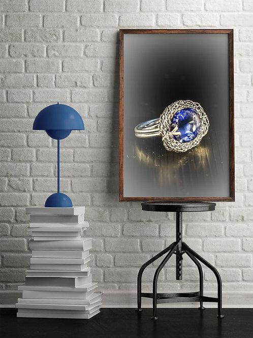 טבעת אבן כחולה