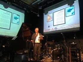 המשורר הרצל חקק יום ההשראה הבינלאומי בנמ