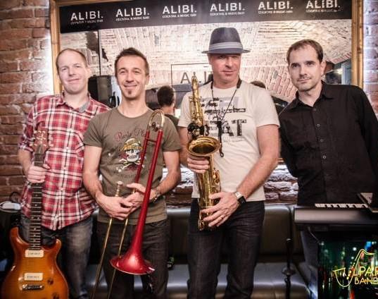 Koncert v clubu Alibi