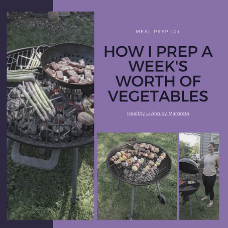 How I prep a week's worth of vegetables
