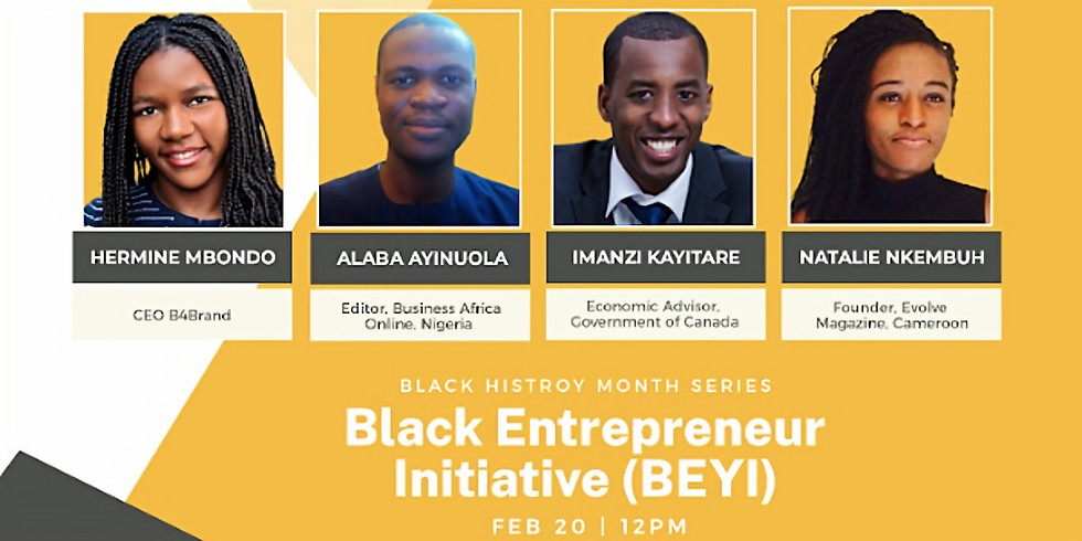 Black Entrepreneurs' Initiative (BEYI) Webinars