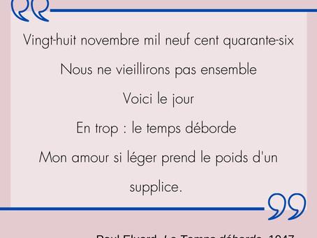 Un exemple de poésie surréaliste: Le poème d'adieu de Paul Éluard à sa femme