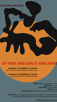 OF TIME AND SPACE AND NONSENSE