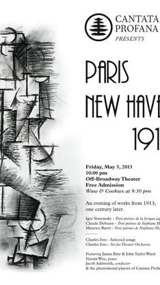 PARIS-NEW HAVEN 1913