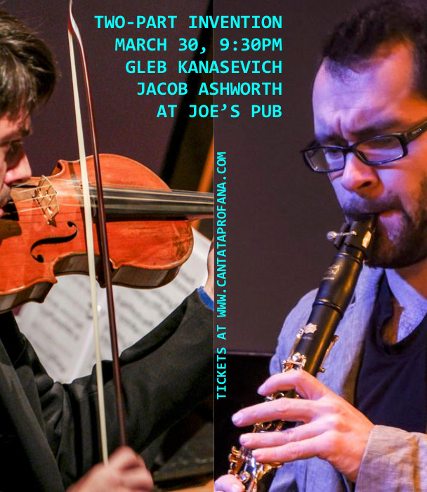 JOE'S PUB: TWO-PART INVENTION