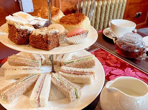 Afternoon Tea and Virtual Concert for Two - UK Mainland