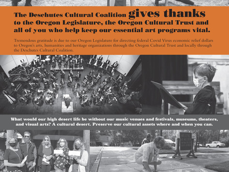 Giving Thanks to the Oregon Legislature for CARES Funding